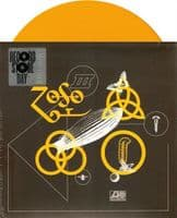 LED ZEPPELIN Rock And Roll Vinyl Record 7 Inch Atlantic 2018 Yellow Vinyl
